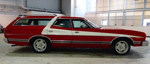starsky hutch station wagon tv tribute car. Black Bedroom Furniture Sets. Home Design Ideas