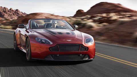 Aston Martin cuts roof off V12 Vantage S, creates super-roadster