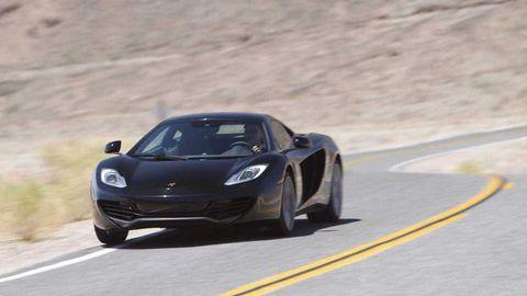 Mode of transport, Automotive design, Vehicle, Headlamp, Performance car, Car, Hood, Road surface, Asphalt, Supercar,