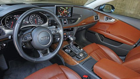 Motor vehicle, Steering part, Mode of transport, Steering wheel, Brown, Vehicle, Automotive design, Transport, Center console, White,
