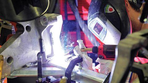 Helmet, Personal protective equipment, Carmine, Machine, Fictional character, Steel,