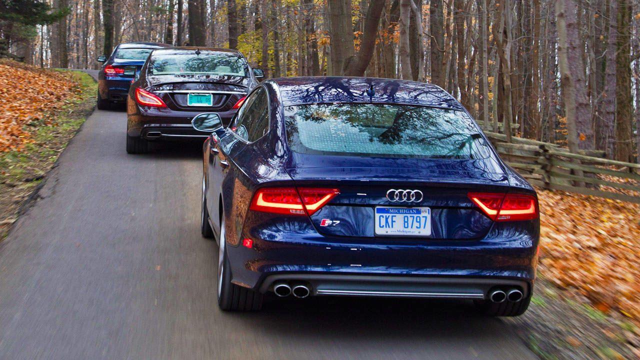 Photos Audi S Vs BMW I XDrive Gran Coupe Vs - Audi s7 vs bmw 650i gran coupe