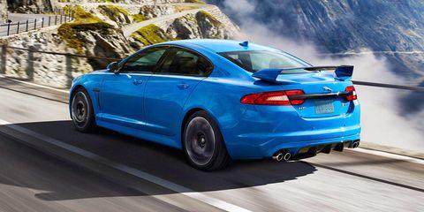 Land vehicle, Vehicle, Car, Luxury vehicle, Full-size car, Blue, Mid-size car, Automotive design, Jaguar xf, Jaguar,