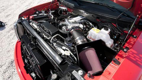 Engine, Automotive engine part, Automotive air manifold, Automotive super charger part, Automotive fuel system, Fuel line, Machine, Personal luxury car, Nut, Kit car,