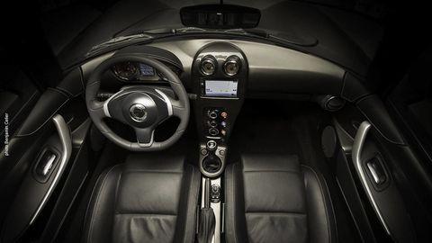 Motor vehicle, Mode of transport, Automotive design, Speedometer, Steering wheel, Luxury vehicle, Steering part, Gauge, Black, Personal luxury car,