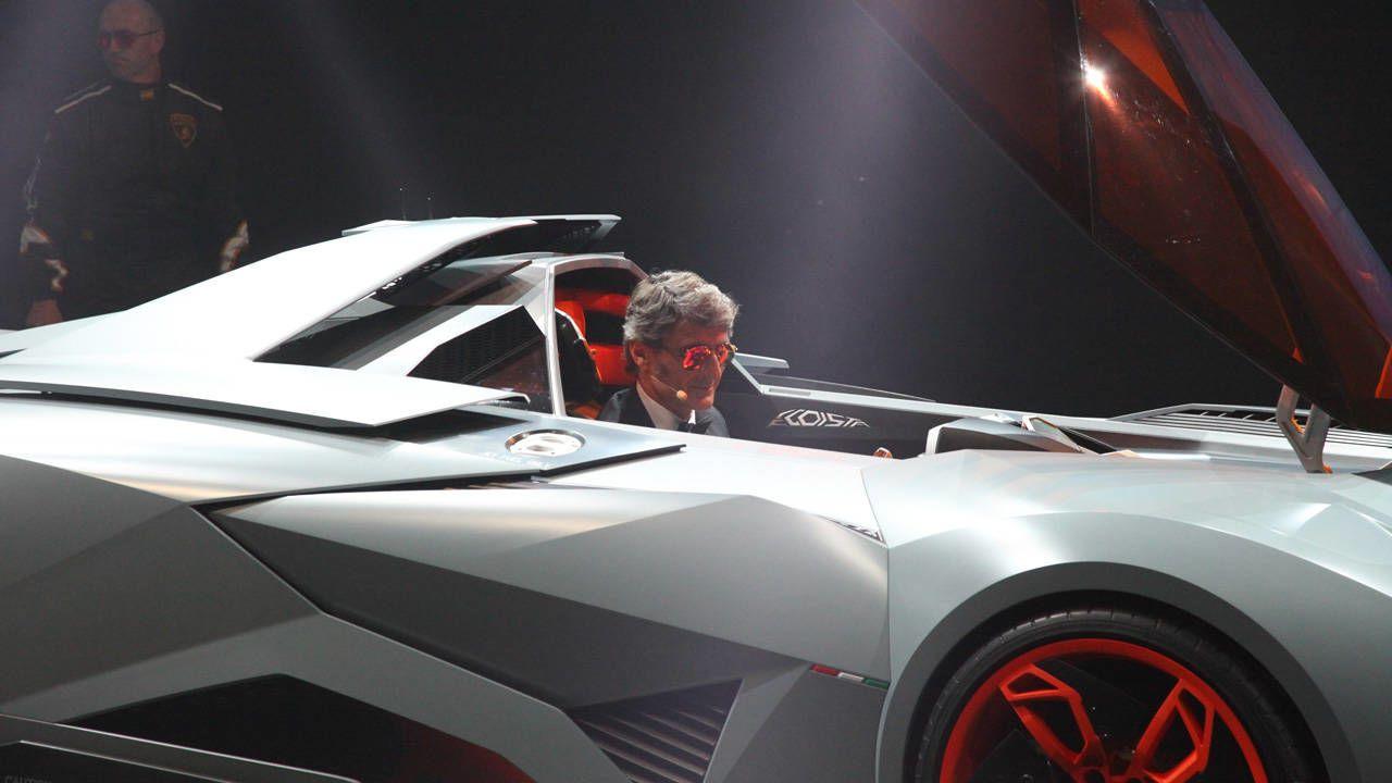 Photos Of The Lamborghini Egoista Wild New Single Seat Supercar
