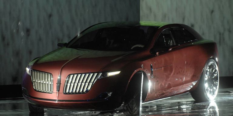 Photo Gallery That Includes The Lincoln Mark 9 Mkr And X Concept Cars
