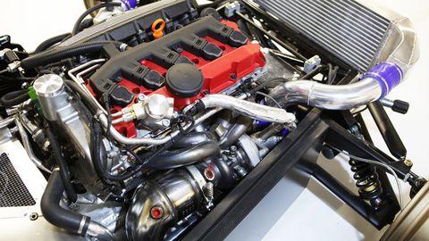 Engine, Automotive engine part, Automotive air manifold, Automotive super charger part, Automotive fuel system, Fuel line, Nut, Kit car, Personal luxury car, Carburetor,