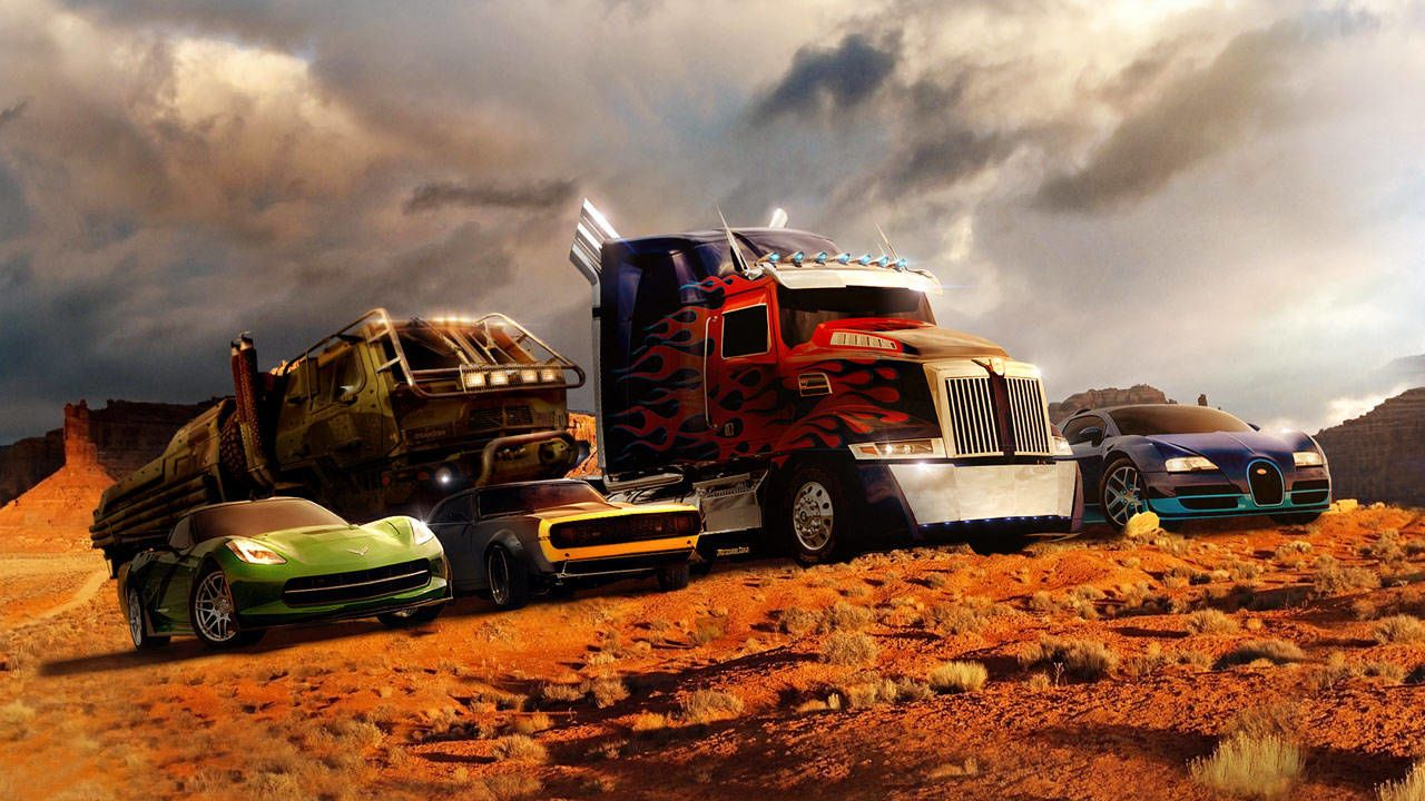 The Cars Of Transformers 4 Age Of Extinction Photos