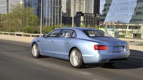 Tire, Automotive design, Vehicle, Road, Land vehicle, Transport, Infrastructure, Car, Rim, Bentley,