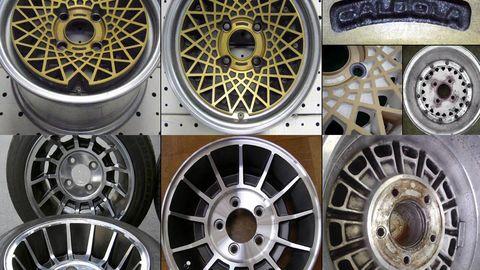 Alloy wheel, Rim, Automotive wheel system, Spoke, Hubcap, Circle, Aluminium, Steel, Machine, Silver,