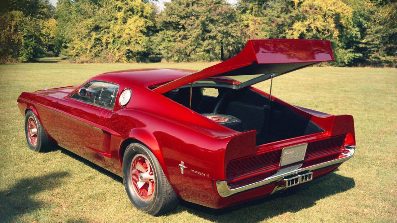 1966 Ford Mustang Mach 1 Concept Photos R T Clic Photo Gallery