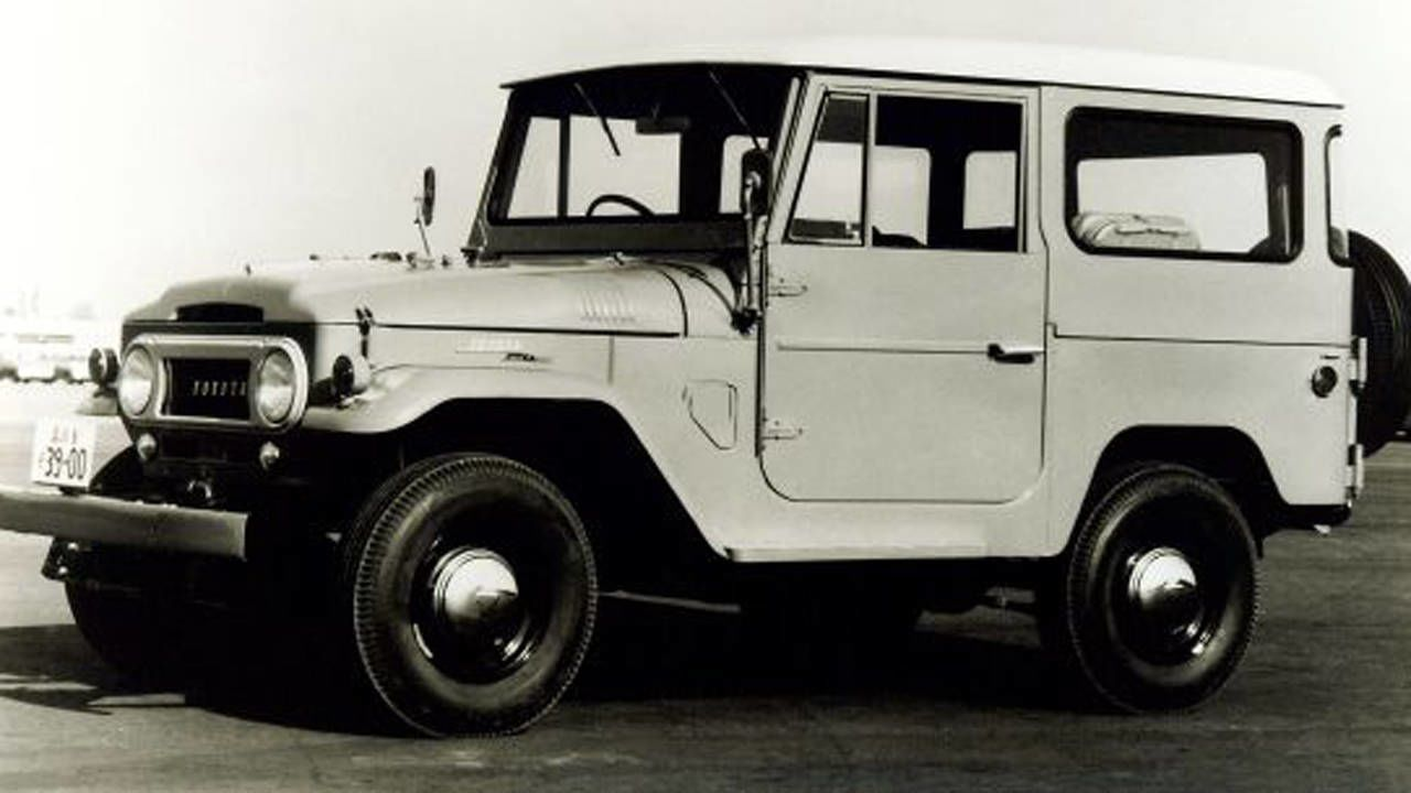 1960s Toyota Land Cruiser Jeep History Of The Rt Histories