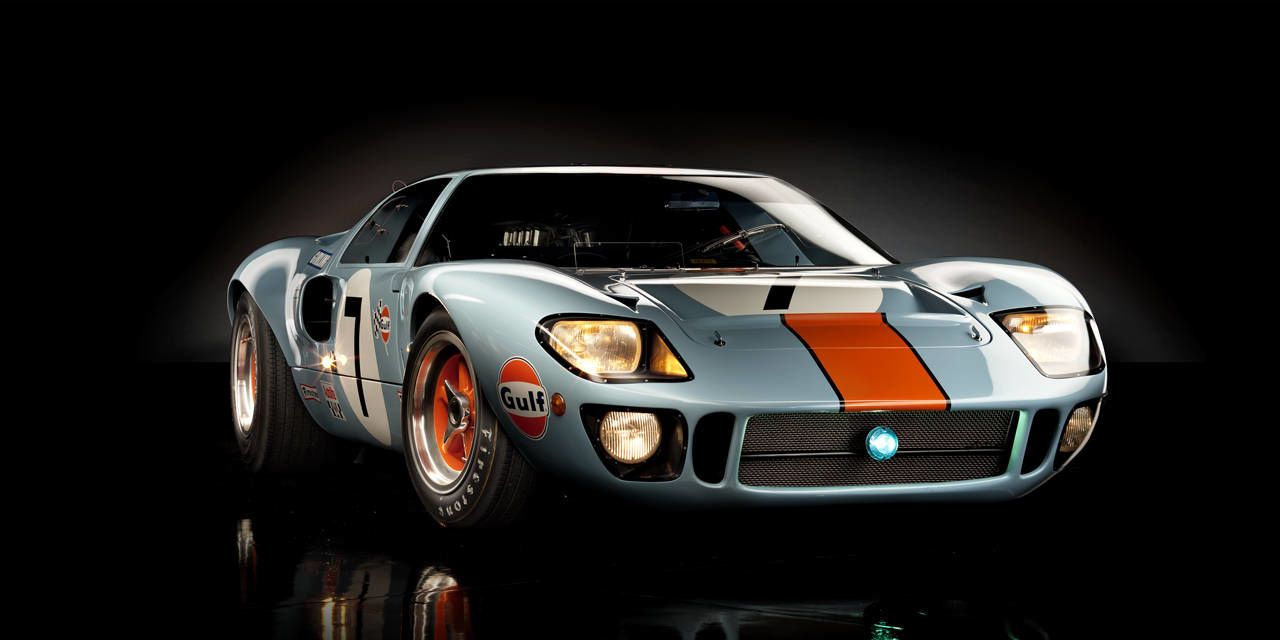 Why So Purty? A designer's take on the Ford GT40