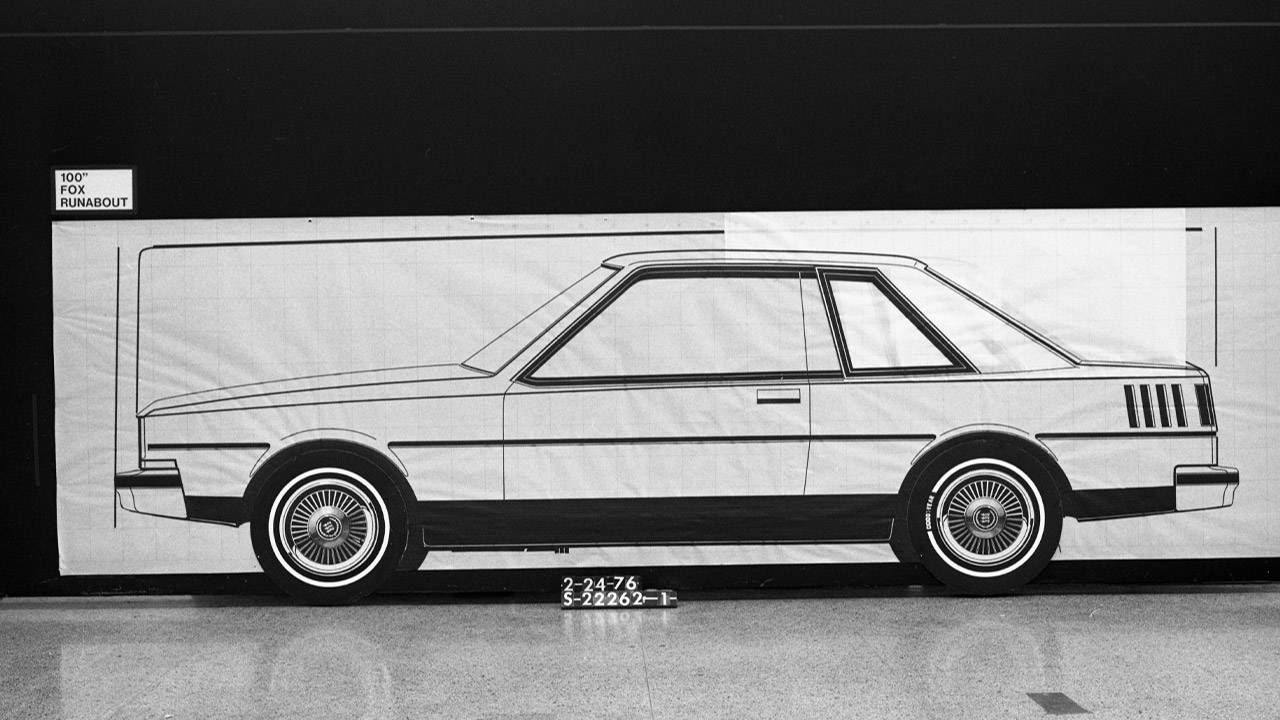 Fox-Body Ford Mustang: Sketch to Production - Slideshow Of The ...