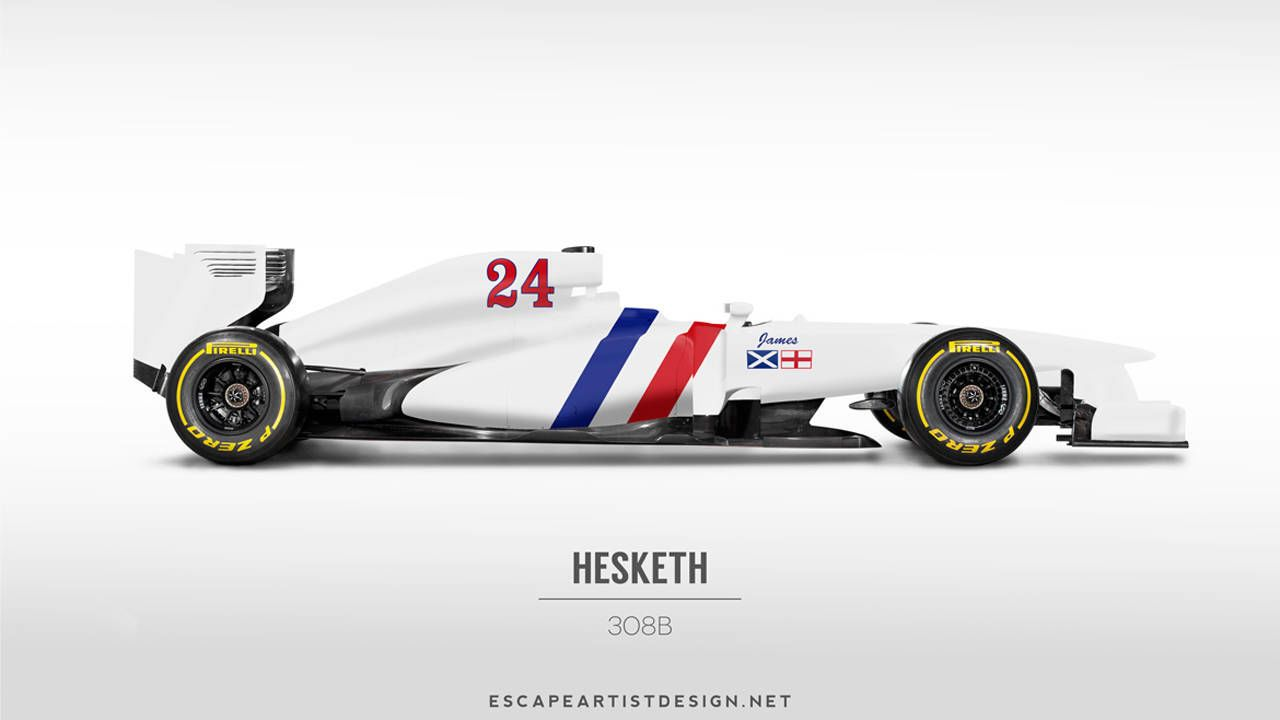 Retro Liveries on Modern Formula 1 Cars - What\'s Old Is New