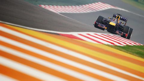 Orange, Automotive tire, Amber, Race track, Formula one, Colorfulness, Formula one tyres, Formula one car, Racing, Motorsport,