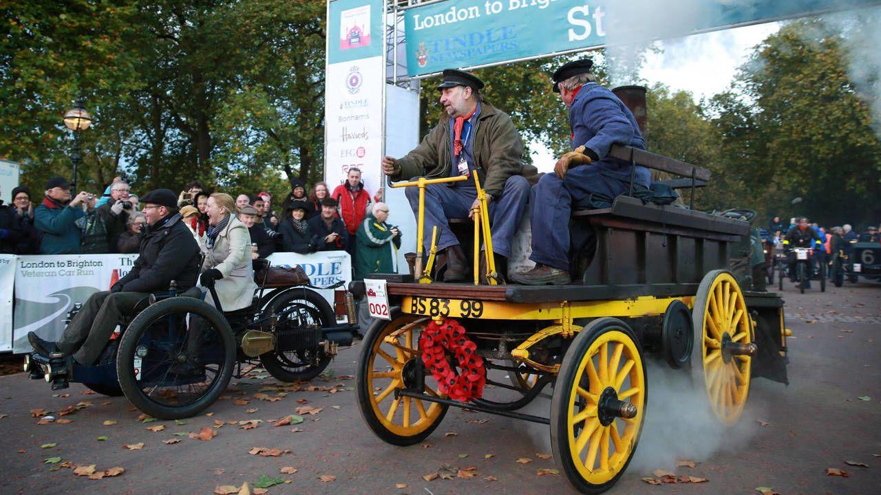 Photos: London to Brighton Veteran car rally