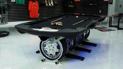 Floor, Indoor games and sports, Technology, Machine, Recreation room, Games, Pool, Tile, Engineering, Billiard table,