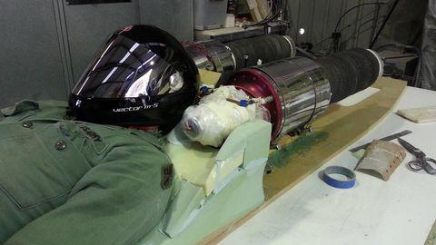 Space, Engineering, Aerospace engineering, Plastic, Paint, Cylinder,