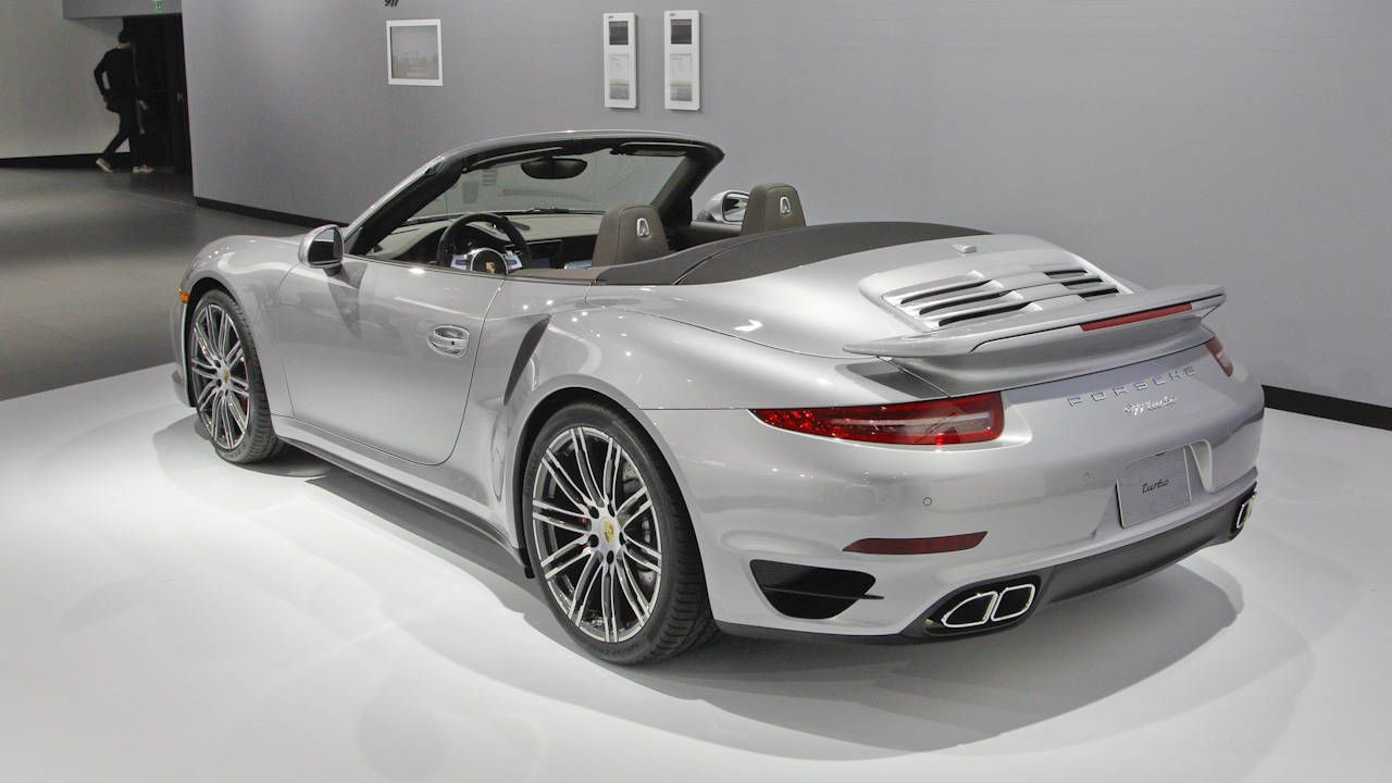 2015 porsche 911 turbo s cabriolet check out the latest turbo cabriolets from porsche from the 2013 la auto show at road track