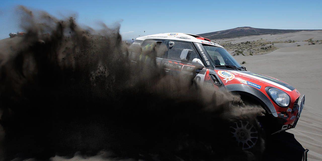 Photos: 2014 Dakar Rally - Day 2