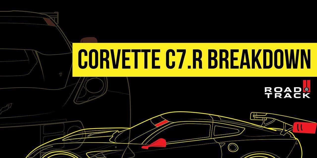 Inside the Chevrolet Corvette C7.R