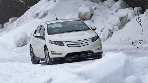 Automotive mirror, Winter, Daytime, Automotive design, Vehicle, Freezing, Snow, Car, Automotive tire, Technology,