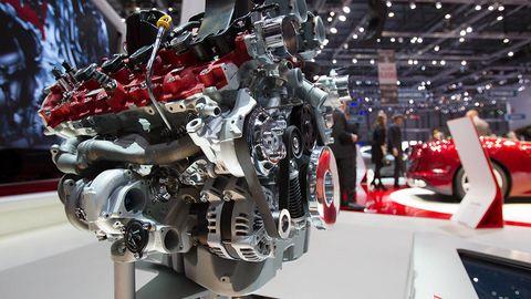 Machine, Carmine, Engine, Technology, Automotive engine part, Auto part, Mecha, Exhibition, Auto show, Engineering,