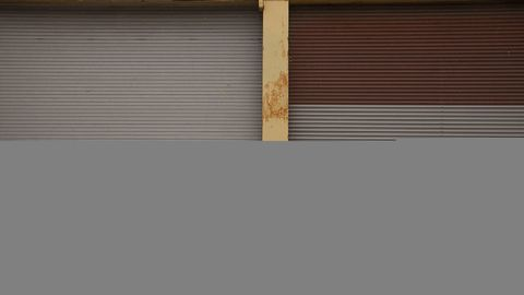 Brown, Window covering, Tints and shades, Tan, Beige, Parallel, Window treatment, Composite material, Rectangle, Shade,
