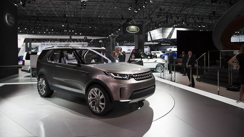 2015 Land Rover Discovery Vision Concept At Nyias Photos
