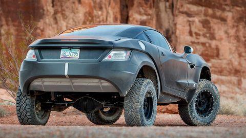Land vehicle, Vehicle, Car, Automotive design, Motor vehicle, Off-roading, Automotive tire, Concept car, Tire, Automotive exterior,