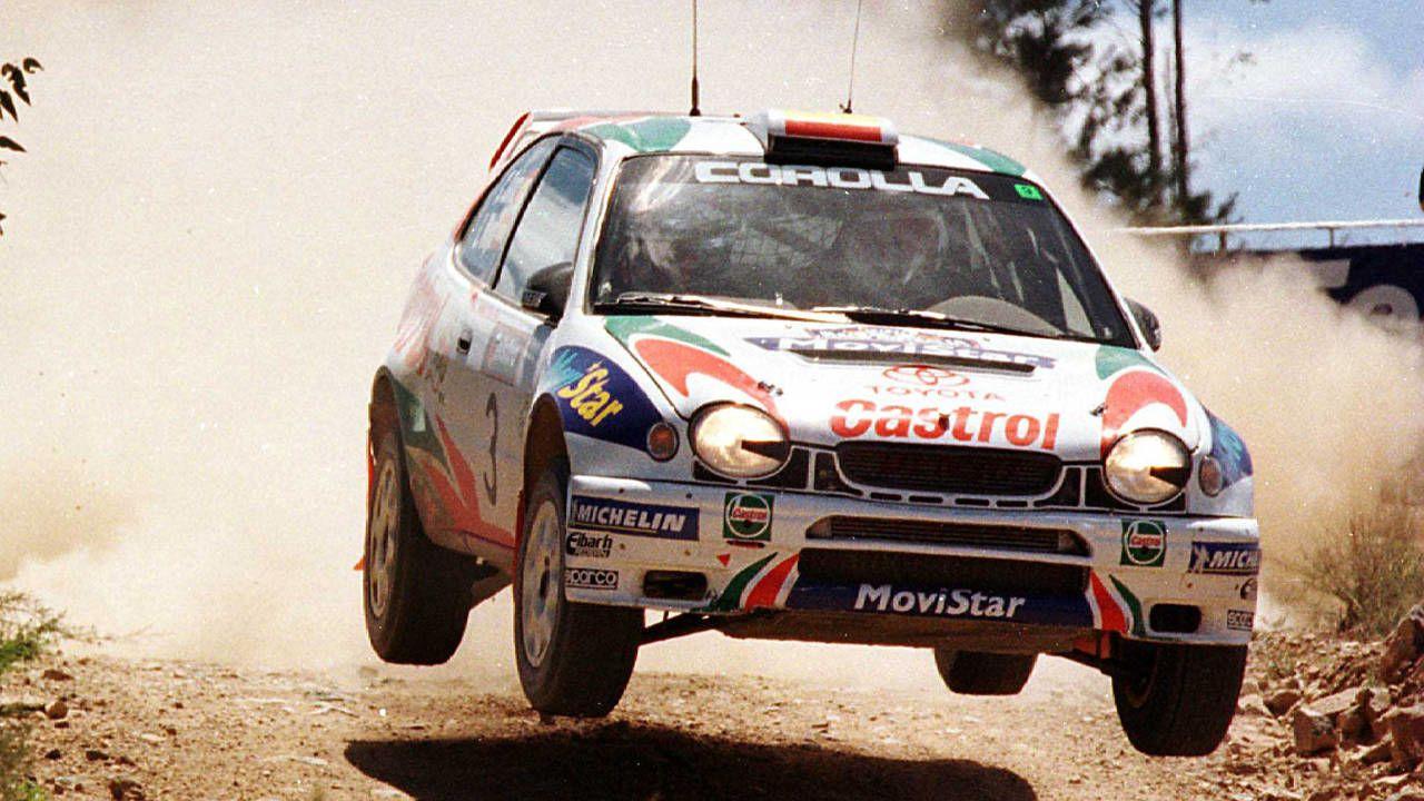 Toyota Rally Cars - Photos