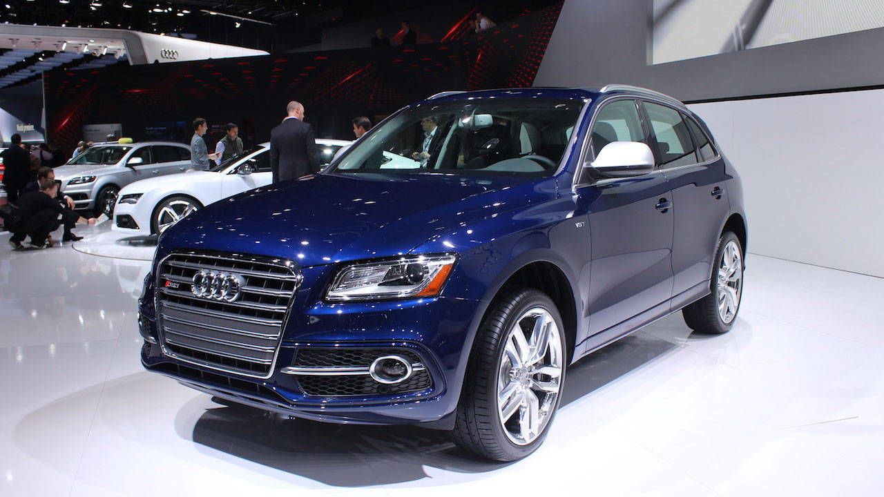 Detroit Auto Show 2014 Audi SQ5