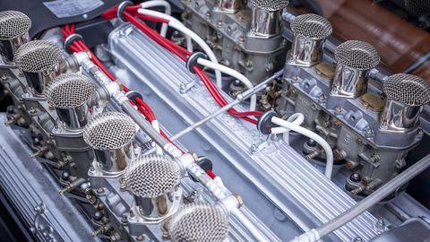Engine, Engineering, Automotive engine part, Metal, Steel, Wire, Machine, Automotive super charger part, Nut, Fuel line,