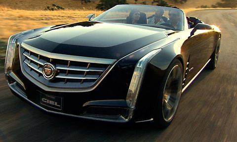 Cadillac Unveiled Its Ciel Concept A 4 Seat Convertible Ed By Turbocharged V 6 Engine D To Hybrid System With Lithium Ion Battery