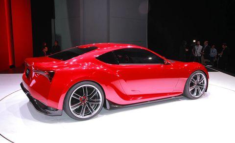 Wheel, Tire, Automotive design, Vehicle, Event, Car, Red, Performance car, Fender, Auto show,