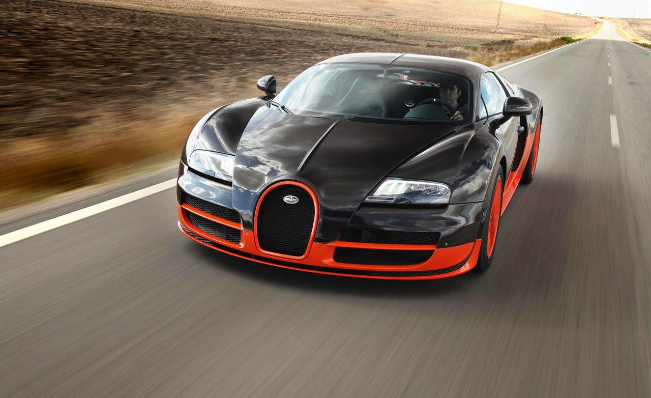 Bugatti veyron fastest car in the world