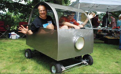 Human, Tent, Canopy, Lawn, Rolling, Yard, Plastic, Tread,