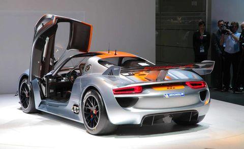 Porsche 918 Rsr Concept 2 Of 34 Image