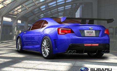 Photos Subaru Brz Sti Concept 2011 Los Angeles Auto Show Preview