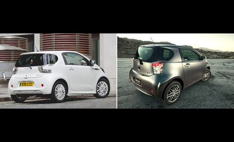 Low End Aston Martin Cygnet And Scion Iq