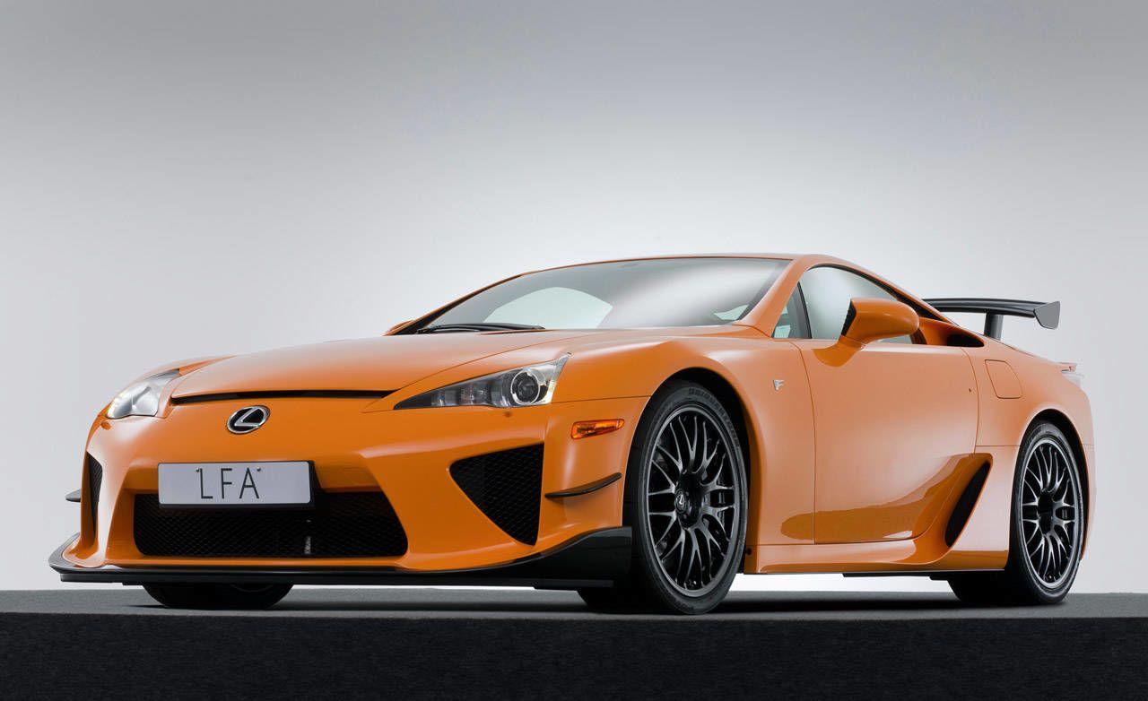 photos: 2012 lexus lfa nürburgring package