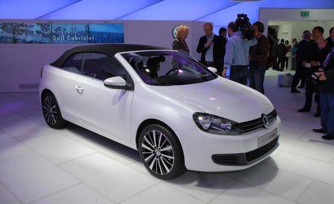 Photos 2012 Volkswagen Golf Cabriolet