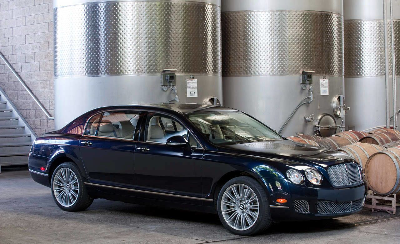 continental bentley and flying spur information photos