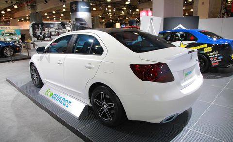 Photos Suzuki Kizashi Ecocharge Concept