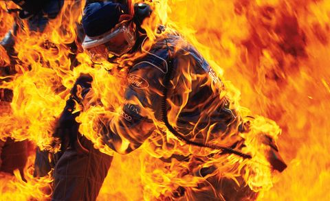Orange, Heat, Fire, Flame, Amber, Geological phenomenon, Gunshot, Costume, Smoke,