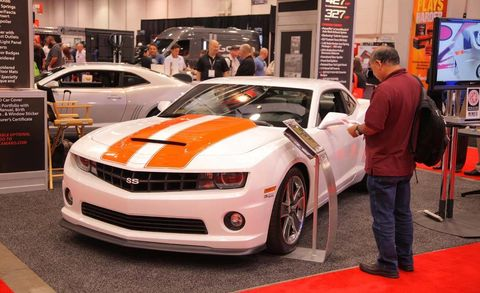 Tire, Wheel, Automotive design, Vehicle, Land vehicle, Event, Headlamp, Chevrolet camaro, Car, Grille,
