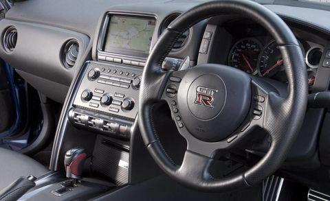 Motor vehicle, Steering part, Mode of transport, Automotive design, Steering wheel, Transport, White, Speedometer, Center console, Technology,
