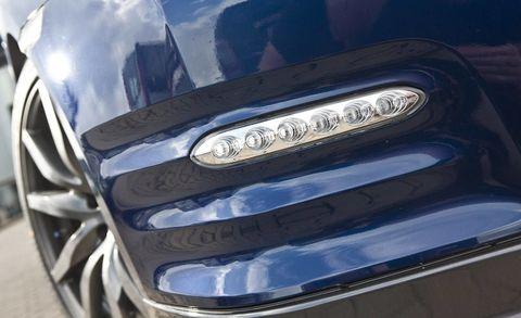 Motor vehicle, Automotive design, Blue, Automotive exterior, Automotive lighting, Grille, Headlamp, Car, Hood, Bumper,